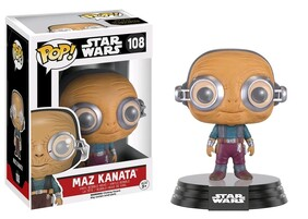 Star Wars - Maz Kanata Episode VII The Force Awakens Pop! Vinyl
