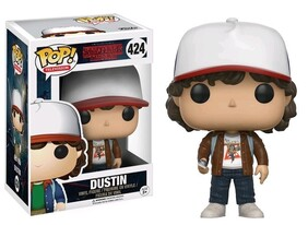 Stranger Things - Dustin (Brown Jacket) US Exclusive Pop! Vinyl