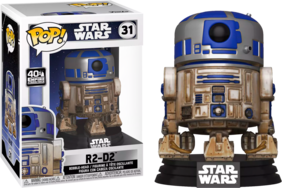 Star Wars - R2-D2 (Dagobah) US Exclusive Pop! Vinyl
