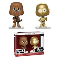 Star Wars - Chewbacca & C-3PO Vynl.