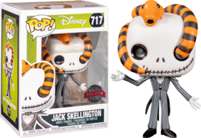 The Nightmare Before Christmas - Jack Snake Head US Exclusive Pop! Vinyl
