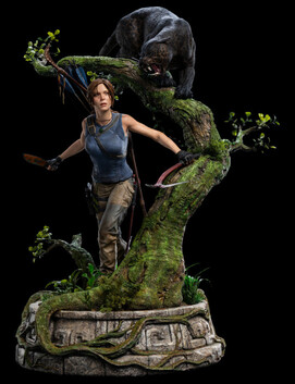 Weta Workshop Tomb Raider Lara Croft Statue 1:4 Scale