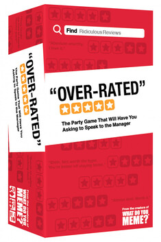 Over-Rated ( Party Game )