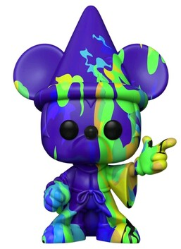 Fantasia - Sorcerer Mickey (Artist) #2 Pop! Vinyl with Protector
