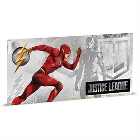 Justice League Series - The Flash™ 5g Silver Coin Note