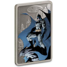 THE CAPED CRUSADER™ - GOTHAM CITY™ 1oz Silver Coin