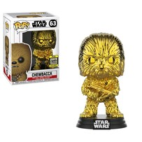 Star Wars - Chewbacca Gold Chrome SW19 US Exclusive Pop! Vinyl