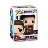 Avengers 4: Endgame - Iron Man with Nano Gauntlet NYCC 2019 US Exclusive Pop!