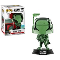 Star Wars - Boba Fett Green Chrome SDCC 2019 US Exclusive Pop! Vinyl
