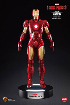 Iron Man 3 Iron Man Mark 4 Life Size Figure