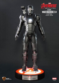 Avengers Age of Ultron War Machine 2.0 Life Size Statue