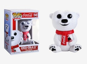 Funko Pop Ad Icons: Coca-Cola® - Coca-Cola Polar Bear Vinyl Figure