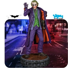 (LIMITED EDITION) Batman: The Dark Knight - Heath Ledger Joker Statue