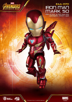 Egg Attack Action Avengers Infinity War Iron Man Mark 50