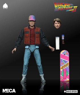 "Back to the Future 2 - Marty Ultimate 7"" Action Figure"