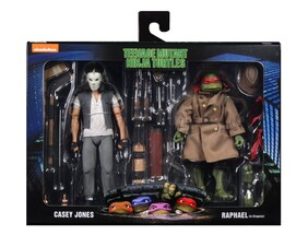 "Teenage Mutant Ninja Turtles - Casey Jones & Raphael 7"" Action Figure 2-Pack"
