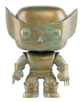X-Men - Wolverine Marvel 80th Anniversary Patina US Exclusive Pop! Vinyl