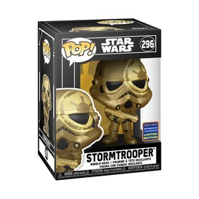 Star Wars - Stormtrooper Gold WC21 US Exclusive Pop! Vinyl [RS]