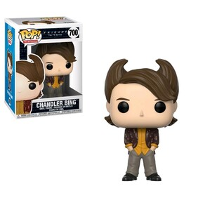 Friends - Chandler Bing 80's Hair Pop! Vinyl