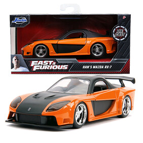 Fast & Furious - Han's Mazda RX-7 1:24 Scale Hollywood Ride