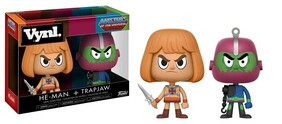 Masters of the Universe - He-Man & Trapjaw Vynl.