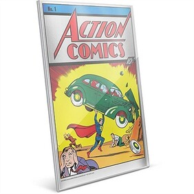 Action Comics #1 - 35g Pure Silver Foil