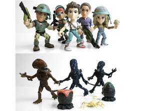 "THE LOYAL SUBJECT - Aliens 3"" Articulated Action Vinyls"