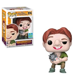 Hunchback of Notre Dame - Quasimodo holding Gargoyle SDCC 2019 US Exclusive Pop! Vinyl [RS]