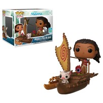 Moana - Moana & Pua on Boat SDCC 2019 US Exclusive Pop! Ride [RS]