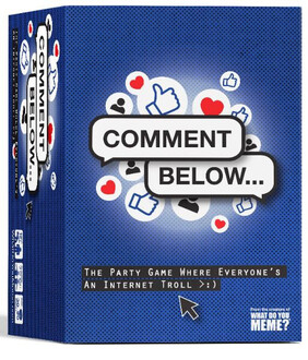 Comment Below ( Party Game )