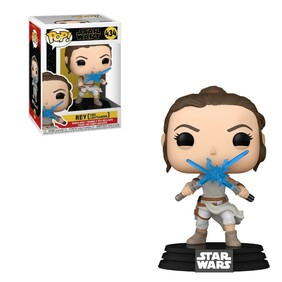 Star Wars - Rey with 2 Lightsabers Pop! Vinyl