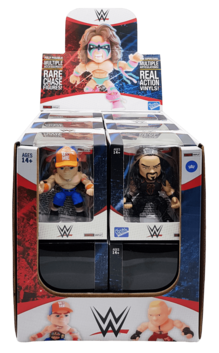 "THE LOYAL SUBJECT - WWE 3"" Articulated Action Vinyls"