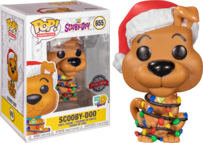 Scooby-Doo with Christmas Lights Pop! Vinyl Figure