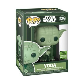 Star Wars - Yoda Green ECCC 2021 US Exclusive Pop! Vinyl