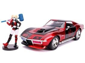 Batman - Harley Quinn 69 Corvette 1:24 Scale Hollywood Ride