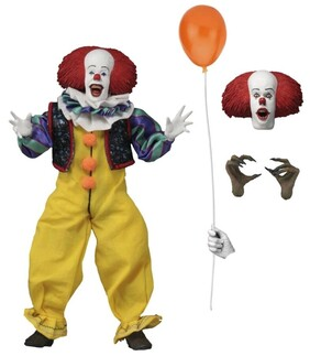 "It - Pennywise 8"" Clothed Figure"