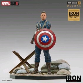 Captain America: The First Avenger - Captain America WWII 1:10 Scale Statue