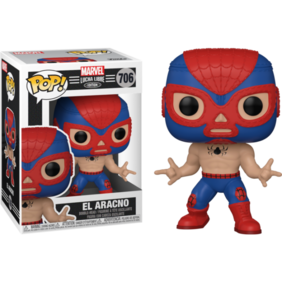 Spider-Man - Luchadore Spider-Man Pop! Vinyl