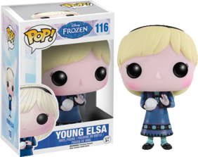 Frozen - Young Elsa Pop! Vinyl