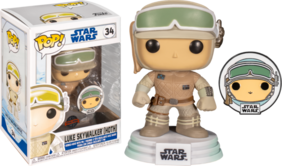Star Wars: Across the Galaxy - Luke Skywalker Hoth US Exclusive Pop! Vinyl with Pin
