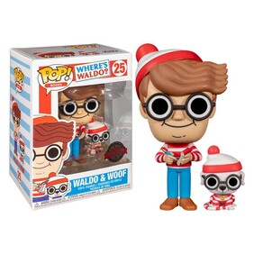 Where's Waldo - Waldo with Dog US Exclusive Pop! Vinyl