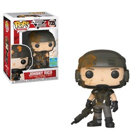 Starship Troopers - Johnny Rico Blood-Splattered SDCC 2019 US Exclusive Pop! Vinyl