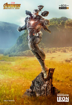 Avengers 3: Infinity War - War Machine 1:10 Scale Statue