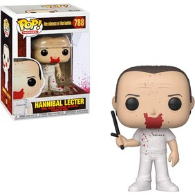 Silence of the Lambs - Hannibal Bloody Pop! Vinyl