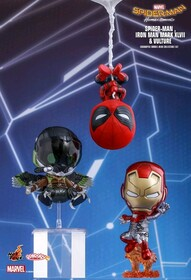 Spider-Man: Homecoming - Spider-Man, Iron Man & Vulture Cosbaby Set