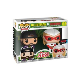 Jay & Silent Bob - Chronic & Bluntman NYCC 2019 US Exclusive Pop! Vinyl 2-pack