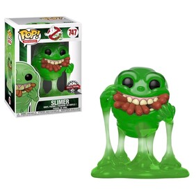 Ghostbusters - Slimer with Hot Dogs Translucent US Exclusive Pop! Vinyl [RS]