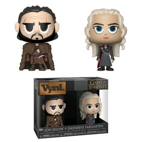 Game of Thrones - Jon Snow & Daenerys Targaryen Vynl.